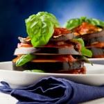 Aubergines with tomato sauce - Parmigiana — Stock Photo #6929304