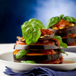 Aubergines with tomato sauce - Parmigiana — Stock Photo #6929352