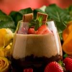 Chocolate Hazelnut Mousse — Stock Photo #7309300