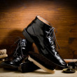 Shoe polishing tools — ストック写真