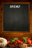 Daily Menu — Stock Photo