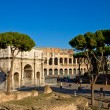 Colosseum and Constantines Arch — Stock Photo #7815661