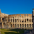 Colosseum and Constantines Arch — Stock Photo
