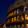 Colesseum by night - Stock Photo