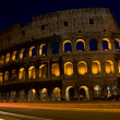 Colesseum by night - Stockfoto