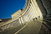 The Bernini Colonnade — Stock Photo