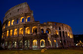 Colesseum by night — Stock Photo