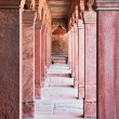 Columns at Fatehpur Sikri - Stock Photo