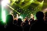 Live concert — Stock Photo