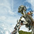 Robotic art — Stock Photo