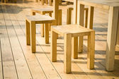 Wooden furniture — Stock Photo