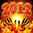 2012  new year — Stock Photo