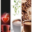 Coffee vertical banners — Stock Photo #7128862
