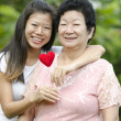 Happy mother with her daughter — Stock Photo