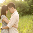 Romantic asian couple — Stock Photo #7270054