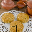 Stock Photo: Mooncake festival (mid autumn festival)
