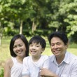 Asian family — Stock Photo #7625723