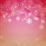 Christmas vintage snowflake card — Stock Photo #6825995