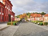 Troj castle park in Prague — Stock Photo