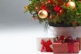 Presents under a Christmas Tree — Stock Photo
