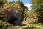 The Bolii Cave in Romania — Stock Photo