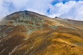 Landscape with Parang mountains in Romania — Stock Photo