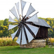 Ancient windmill replica — Stock Photo