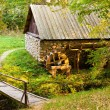 Watermill replica - Stock Photo