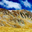 Landscape with Iezer peak of Parang mountains in Romania — Foto Stock