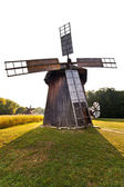 Ancient windmill replica — Stock Photo