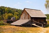 Watermill replica — Stock Photo