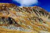 Landscape with Iezer peak of Parang mountains in Romania — Stock Photo