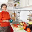 Senior woman in the kitchen — Stock Photo #7237710