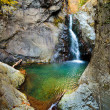 Waterfall in the mountains — Stock Photo #7521794