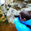 Professional nature photographer - Stock Photo
