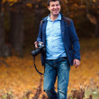 Professional nature photographer — Stock Photo #7526112