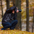 Professional nature photographer — Stock Photo #7526115
