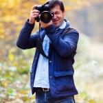 Professional nature photographer — Stock Photo #7526119