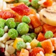 Closeup of frozen vegetables — Stock Photo