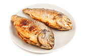 Roasted gilt head bream — Stock Photo