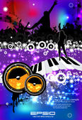 Party event poster — Stock Vector