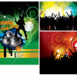 Party Vector Background - Vettoriali Stock