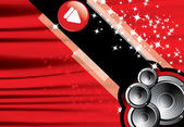 Eps10 abstract vector speaker design — Stock Vector