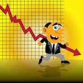 Manager. Vector illuatsration — Stock Vector