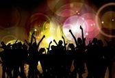 Festa dançante de fundo — Vetorial Stock