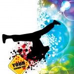 Breakdancer — Stock Vector