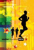 Sport illustratie — Stockvector