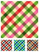 Padrão de textura toalha multicoloridos — Vetor de Stock