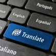 Online translation service concept - Stock Photo