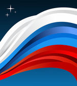 Russia flag illustration — Stock Vector
